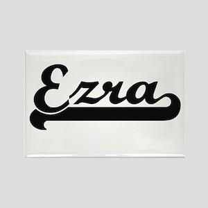 Ezra Classic Retro Name Design Magnets