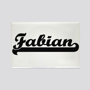 Fabian Classic Retro Name Design Magnets