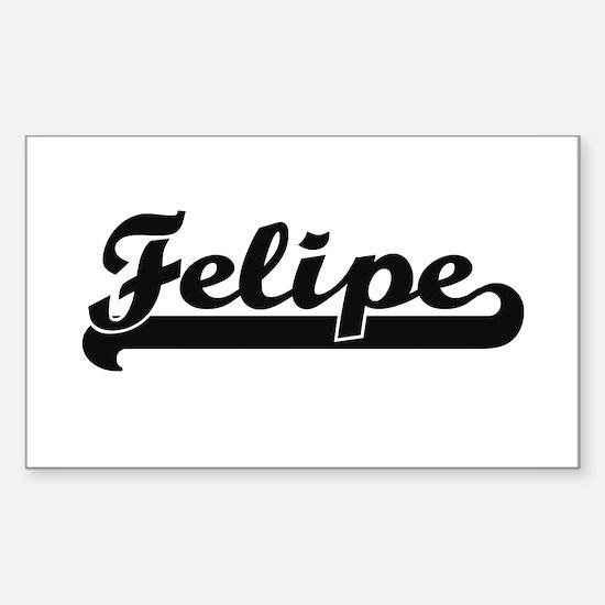 Felipe Classic Retro Name Design Decal