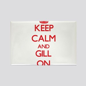 Keep Calm and Gill ON Magnets