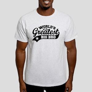 World's Greatest Big Bro Light T-Shirt