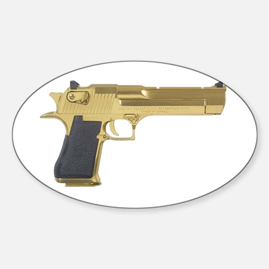 Golden Eagle Oval Decal