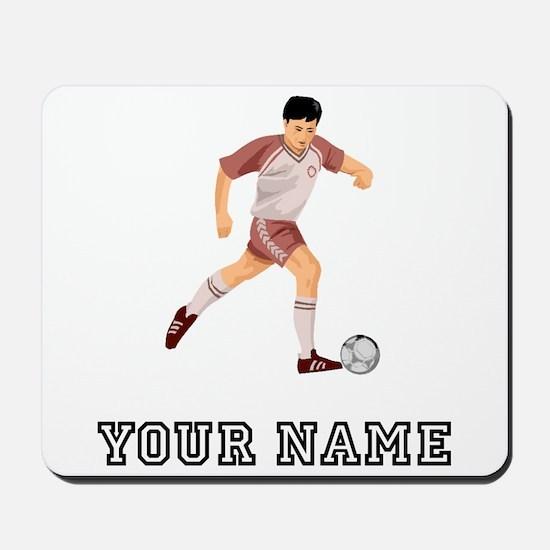 Soccer Player (Custom) Mousepad