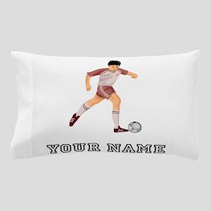 Soccer Player (Custom) Pillow Case
