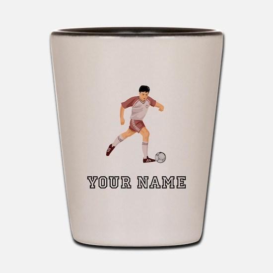 Soccer Player (Custom) Shot Glass
