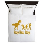 Stay Rex Stay Queen Duvet