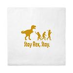 Stay Rex Stay Queen Duvet