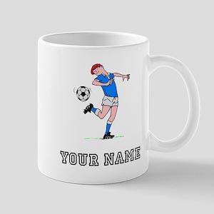 Soccer Kid (Custom) Mugs