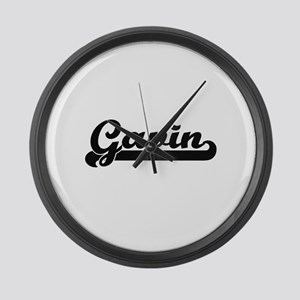 Gavin Classic Retro Name Design Large Wall Clock