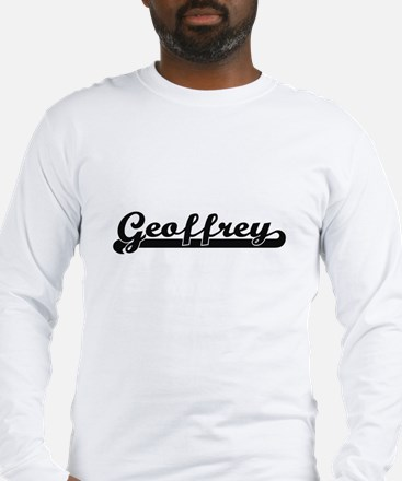 Geoffrey Classic Retro Name De Long Sleeve T-Shirt