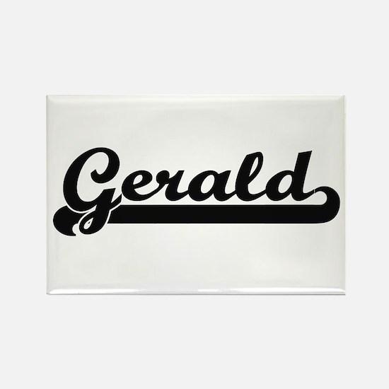 Gerald Classic Retro Name Design Magnets