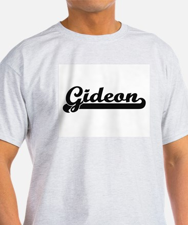 Gideon Classic Retro Name Design T-Shirt