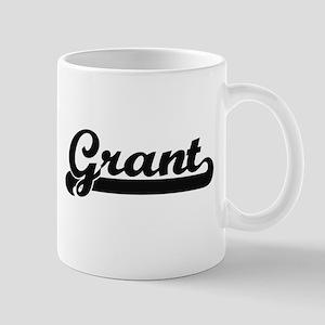 Grant Classic Retro Name Design Mugs