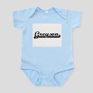 Greyson Classic Retro Name Design Body Suit