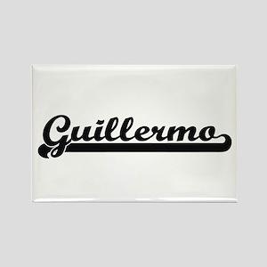 Guillermo Classic Retro Name Design Magnets