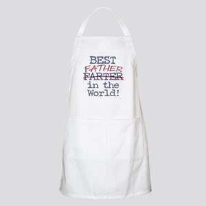 Best Farter Father in the World Apron