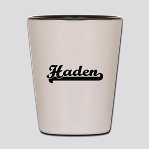 Haden Classic Retro Name Design Shot Glass