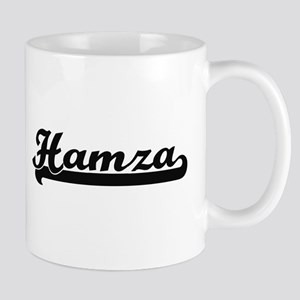 Hamza Classic Retro Name Design Mugs