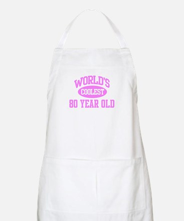 Coolest 80 Year Old BBQ Apron