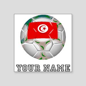 Tunisia Soccer Ball (Custom) Sticker