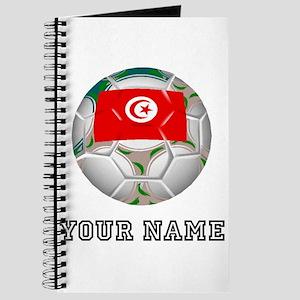 Tunisia Soccer Ball (Custom) Journal