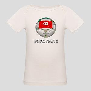 Tunisia Soccer Ball (Custom) T-Shirt