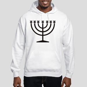 Menorah Hooded Sweatshirt
