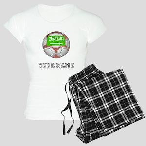 Saudi Arabia Soccer Ball (Custom) Pajamas