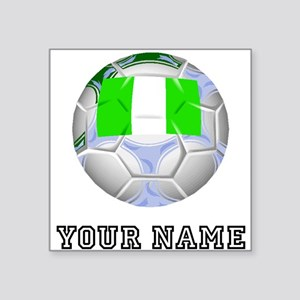 Nigeria Soccer Ball (Custom) Sticker