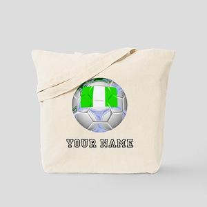 Nigeria Soccer Ball (Custom) Tote Bag