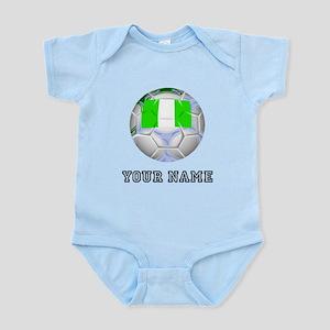 Nigeria Soccer Ball (Custom) Body Suit
