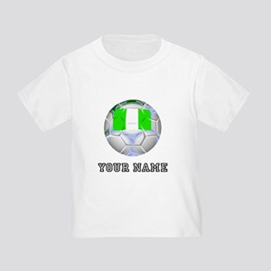 Nigeria Soccer Ball (Custom) T-Shirt