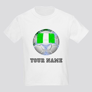 Nigeria Soccer Ball (Custom) T-Shirt