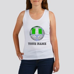 Nigeria Soccer Ball (Custom) Tank Top