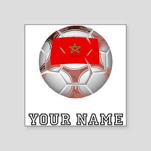 Morocco Soccer Ball (Custom) Sticker