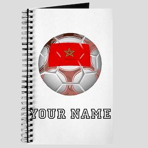 Morocco Soccer Ball (Custom) Journal