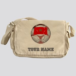 Morocco Soccer Ball (Custom) Messenger Bag