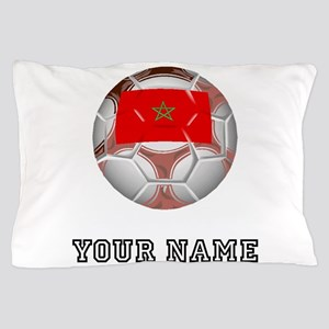 Morocco Soccer Ball (Custom) Pillow Case