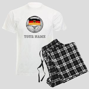Germany Soccer Ball (Custom) Pajamas