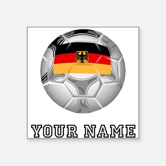 Germany Soccer Ball (Custom) Sticker