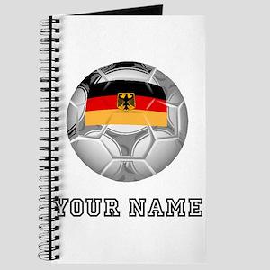 Germany Soccer Ball (Custom) Journal