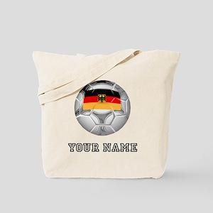 Germany Soccer Ball (Custom) Tote Bag