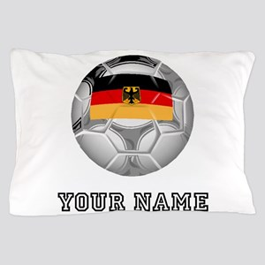 Germany Soccer Ball (Custom) Pillow Case