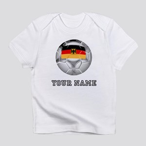 Germany Soccer Ball (Custom) Infant T-Shirt