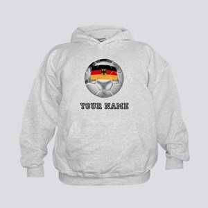 Germany Soccer Ball (Custom) Hoodie