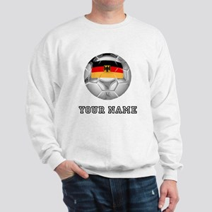Germany Soccer Ball (Custom) Sweatshirt