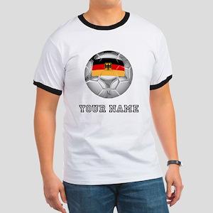 Germany Soccer Ball (Custom) T-Shirt