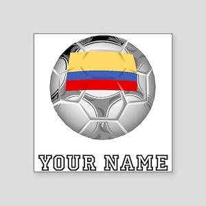 Colombia Soccer Ball (Custom) Sticker