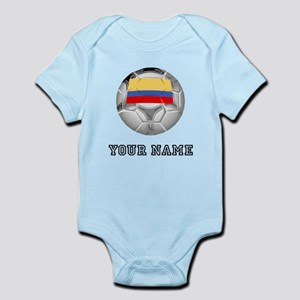 Colombia Soccer Ball (Custom) Body Suit