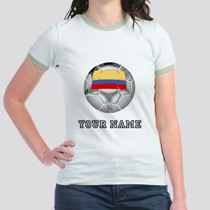 Colombia Soccer Ball (Custom) T-Shirt